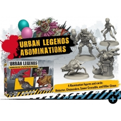 Zombicide 2nd Edition Urban Legends Abomination Pack