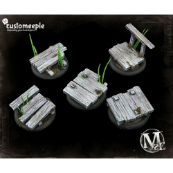 Malifaux Bayou Bases - 40mm for 50mm Bases