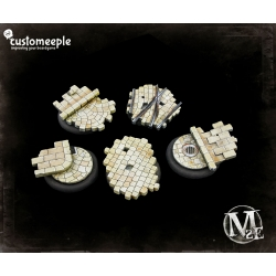 Malifaux Street Tactic Bases - 23mm for 30mm Bases