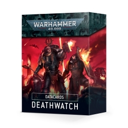 Datacards: Deathwatch - English