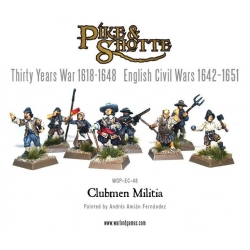 Clubmen Militia with Pike & Musket