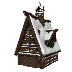 Icewind Dale: Rime of the Frostmaiden - Ten Towns Papercraft Set: D&D Icons of the Realms