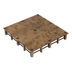 Wooden Square Dock