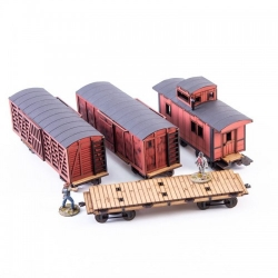 19th C. American Freight Bundle (Red)