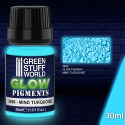 Glow in the Dark - Mind Turquoise
