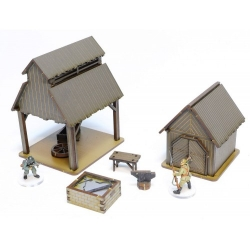 Russian Village - Smithy and Tool Shed