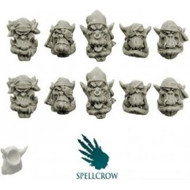 Freebooters Orc Heads version 2
