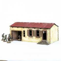 Small House with Workshop