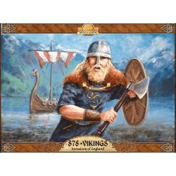 878 Vikings Invasion of England 2nd Edition
