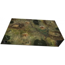 Folklore The Affliction: Oversized Cloth World Map