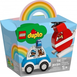 Fire Helicopter & Police Car LEGO® DUPLO® 10957