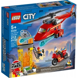 Fire Rescue Helicopter LEGO® City 60281