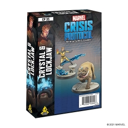 Marvel Crisis Protocol: Crystal and Lockjaw