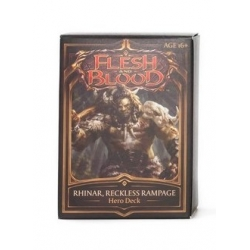 Rhinar - Welcome to Rathe: Hero Deck Flesh And Blood TCG