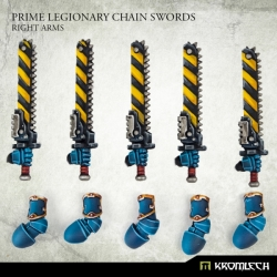 Prime Legionaries CCW Arms: Chain Swords - Right