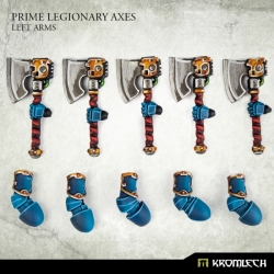 Prime Legionaries CCW Arms: Axes - Left