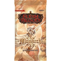 Flesh and Blood TCG: Monarch Booster Pack (Unlimited Edition)