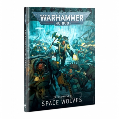 Codex Supplement: Space Wolves Hardback - French