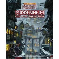 Middenheim - City of the White Wolf: Warhammer Fantasy Roleplay