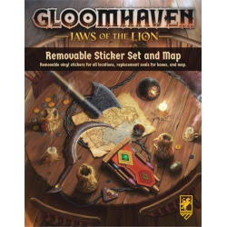Gloomhaven - Jaws of the Lion Removable Sticker Set & Map