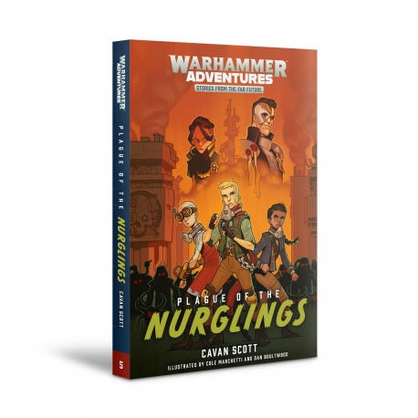 Warhammer Adventures: Plague of the Nurglings Paperback