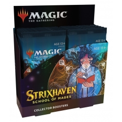 MTG: Strixhaven School of Mages Collector Booster Box
