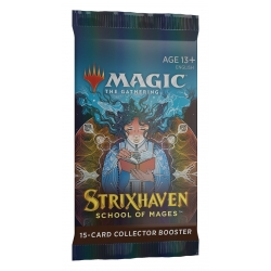 MTG: Strixhaven School of Mages Collector Single Booster