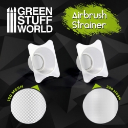 Airbrush Cup Strainers x2