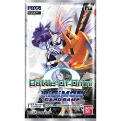 Digimon Card Game: Booster- Battle Of Omni BT05