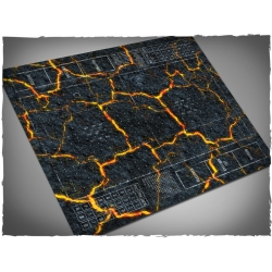 Fantasy Football - Inferno Theme Mousepad Games Mat