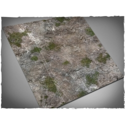 Medieval Ruins Themed Malifaux 3rd Ed Cloth Game Mat