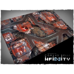32in x 48in, Infinity - Nomads Theme Mousepad Games Mat