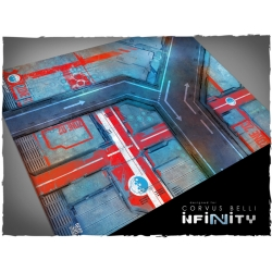 32in x 24in, Infinity - Panoceania Theme Mousepad Games Mat