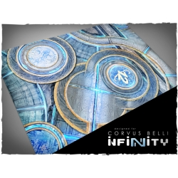 32in x 48in, Infinity - O-12 Theme Mousepad Games Mat