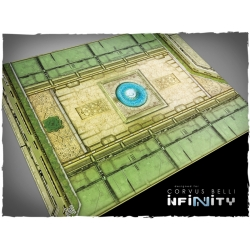 32in x 24in, Infinity - Haqqislam Theme Mousepad Games Mat