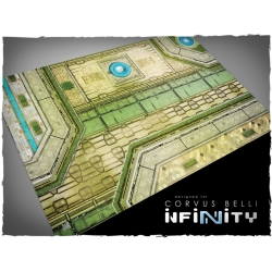 32in x 48in, Infinity - Haqqislam Theme Mousepad Games Mat