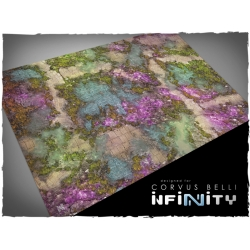 32in x 48in, Infinity - Combined Army Theme Mousepad Games Mat