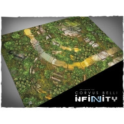 32in x 48in, Infinity - Tohaa Theme Mousepad Games Mat