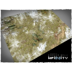 32in x 24in, Infinity - Ariadna Theme Mousepad Games Mat