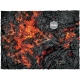 22in x 30in, Realm of Fire Theme Mousepad Games Mat