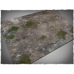 22in x 30in, Medieval Ruins Theme Mousepad Games Mat