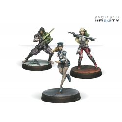 Dire Foes Mission Pack 2: Fleeting Alliance (Nomads VS ALEPH) Lupe Balboa, Thrasymedes, Marine Engineering Officer