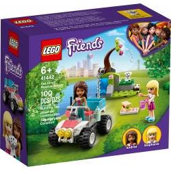 Vet Clinic Rescue Buggy LEGO® Friends 41442