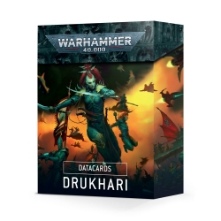 Datacards: Drukhari - English