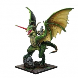 Elf Lord on Drakon