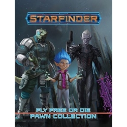 Starfinder Pawns: Fly Free or Die Pawn Collection