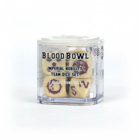 Blood Bowl: Imperial Nobility Team Dice Set