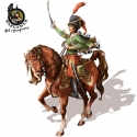 Victoria, the French Hussar - 28mm