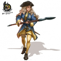 Astrid from Swedish infantry