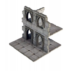 Frozen City Ruins - Two-storey Wall